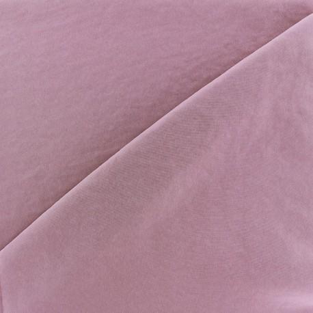 Tissu fluide effet soie lavée - orchidée x 10 cm
