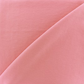 Imitation washed silk fluid fabric - pink x 10cm