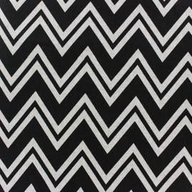 Tissu toile coton - Chevron x 10cm