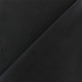 Imitation washed silk fluid fabric - navy x 10cm