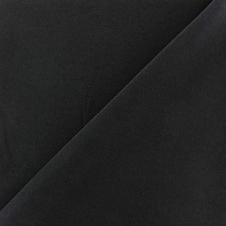 Tissu fluide effet soie lavée - marine x 10 cm