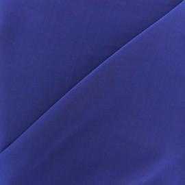Imitation washed silk fluid fabric - blue roy x 10cm