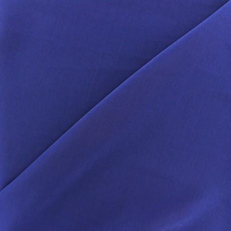 Tissu fluide effet soie lavée - bleu roy x 10 cm