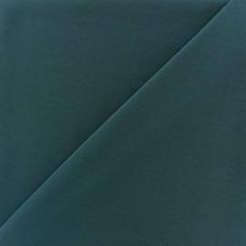 Imitation washed silk fluid fabric - blue oil x 10cm