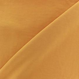 Tissu fluide effet soie lavée - miel x 10 cm