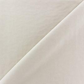 Imitation washed silk fluid fabric - sand x 10cm