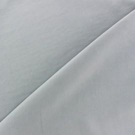Imitation washed silk fluid fabric - blue mist x 10cm