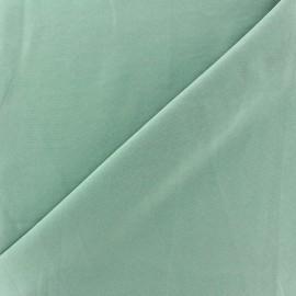 Tissu fluide effet soie lavée - vert ocean x 10 cm