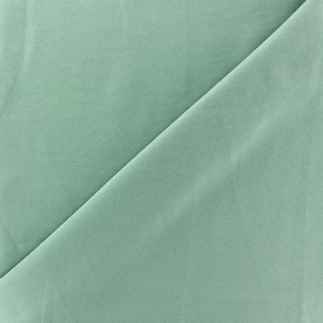 Imitation washed silk fluid fabric - green ocean x 10cm