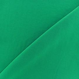 Tissu fluide effet soie lavée - vert x 10 cm