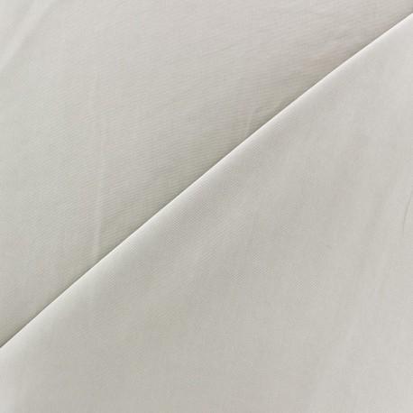 Imitation washed silk fluid fabric - beige light x 10cm