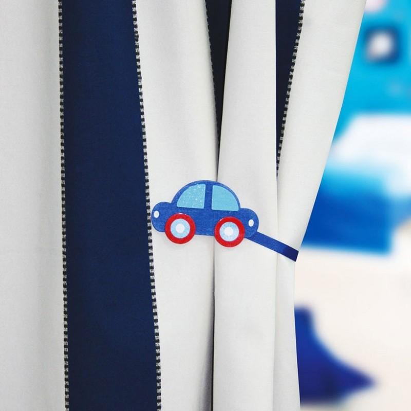 accessoire rideaux embrasse rideau magn tique bois kid car mpm. Black Bedroom Furniture Sets. Home Design Ideas