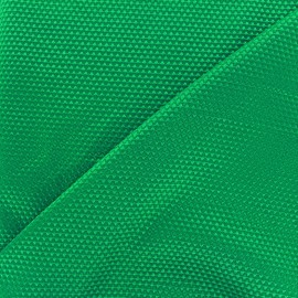 Satiny stitched cotton fabric - green x 10cm
