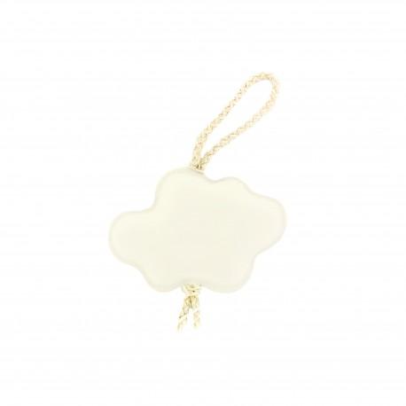 Pompom curtain tieback Cloud - Cream