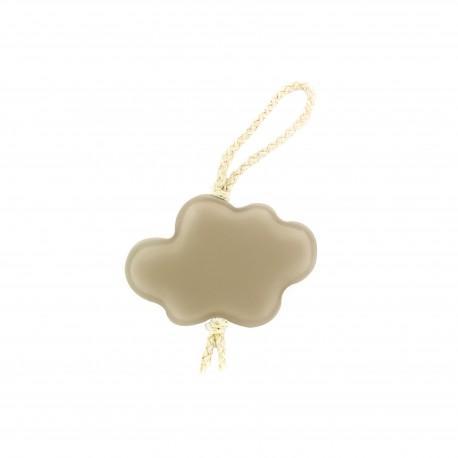 Pompom curtain tieback Cloud - linen