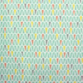 Tissu coton Oyan - multi x 10cm
