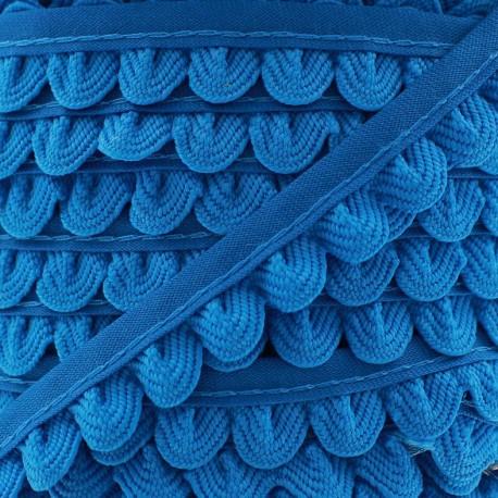 Braid ribbon Pétales - turquoise x 1m