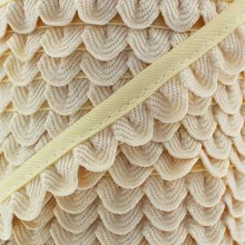 Galon Pétales - beige clair x 1m