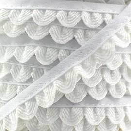 Galon Pétales - blanc x 1m