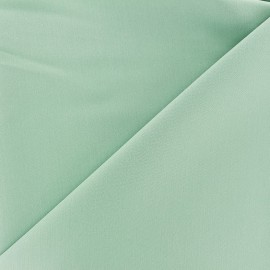 ♥ Coupon 80 cm X 140 cm ♥ Tissu Gabardine Lycra légère - vert océan