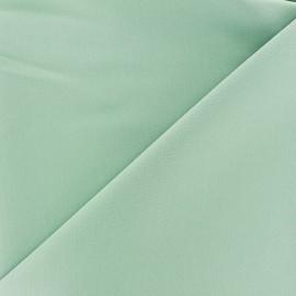 Tissu Gabardine Lycra légère - vert océan x 10cm