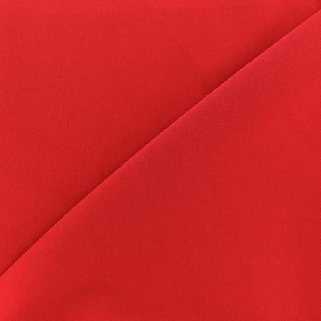 Light Lycra Gabardine Fabric - red x 10cm