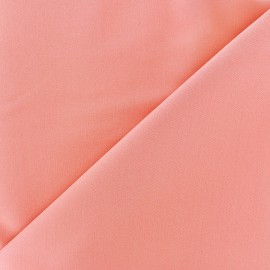 Light Lycra Gabardine Fabric - coralx 10cm