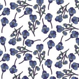 Tissu Liberty - Ros D x 10cm