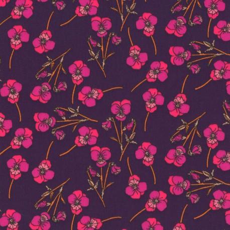 Tissu Liberty - Ros N x 10cm