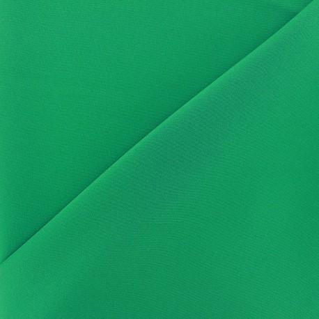 Tissu Burling - vert vif x 10cm