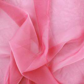 Silky Muslin Fabric - pink x 50cm