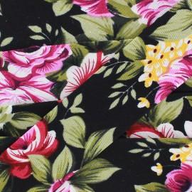 Biais Blossom - noir x 1m