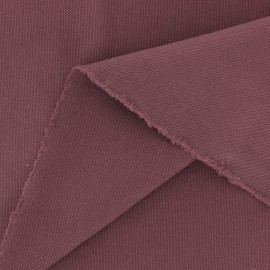 Washed-out cotton Fabric Vintage - burgundy x 10cm