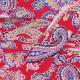 Biais Paisley - fuchsia x 1m