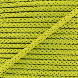 Knitted cord 4,5 mm - anise x 1m