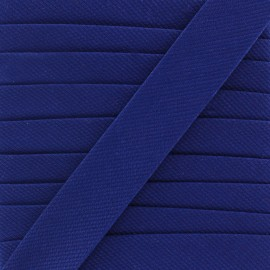 Plain stitched Bias binding - blue