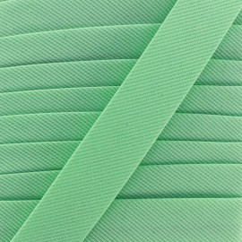 Biais Piqué uni - vert clair
