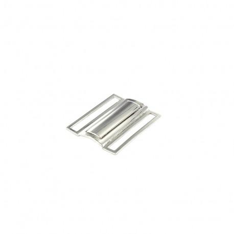 Boucle de ceinture Métal 50mm - argent
