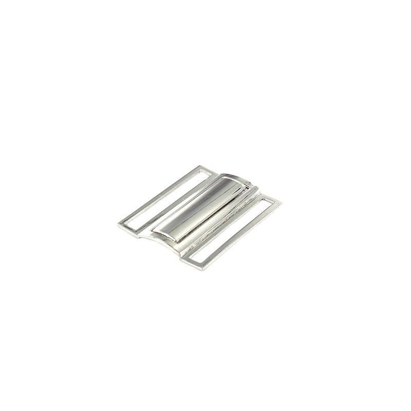 24dc0474df25 Boucle de ceinture Métal Lizzi 50mm - argent - Ma Petite Mercerie