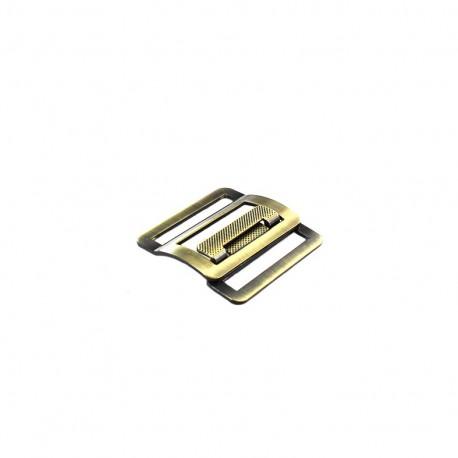 Belt buckle Metal 40mm - bronze