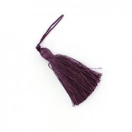 Shiny pompom 85 mm - purple