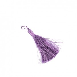 Metallic thread tassel 65 mm - parma