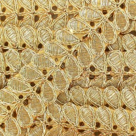 Guipure India Osadhi - or x 50cm