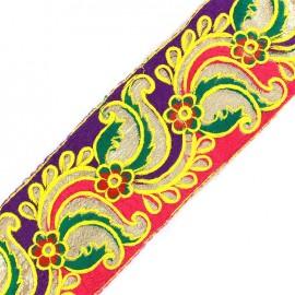 Ruban Galon India New Delhi - rose/violet x 50cm