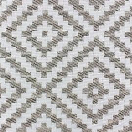 Jaquard Vannerie fabric - linen x 13cm