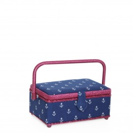 "Rectangle sewing box "" Prym maritime S"""