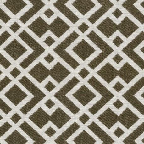 Jacquard fabric Felix - gold/beige x 20cm