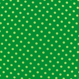 Jersey fabric Dots 7 mm - khaki/green x 10cm