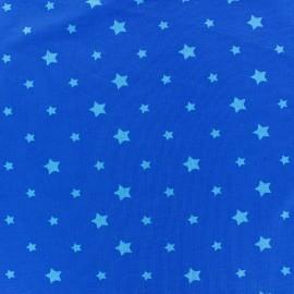 Tissu Jersey voie lactée - bleu/marine x 10cm