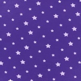 Tissu Jersey voie lactée - mauve/violet x 10cm